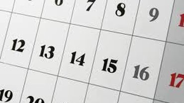 Kalenderblatt Monat