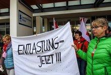 Warnstreik Wismar 19.09.17