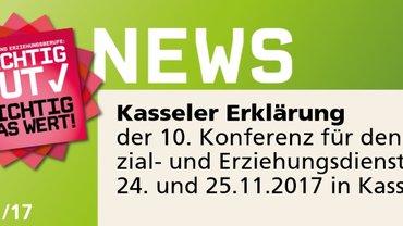 10.Kasseler Erklärung Sozial- und Erziehungsdienst
