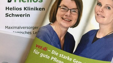 ver.di aktiv bei HELIOS Schwerin