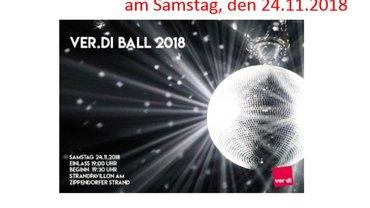 Einladung ver.di-Ball 2018