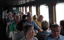 ver.di Schwerin lud zu einer Schifffahrt auf den Schweriner Seen